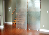 Custom Features: Glass Partition Walls